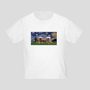 Starry / 2 Affenpinschers Toddler T-Shirt