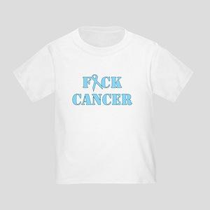 F*ck Cancer Light Blue T-Shirt