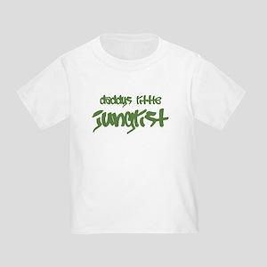 Daddy's Little Junglist Toddler T-Shirt
