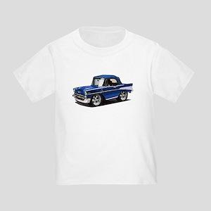 BabyAmericanMuscleCar_57BelR_Blue T-Shirt