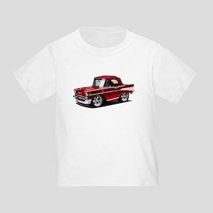 BabyAmericanMuscleCar_57BelR_Red T-Shirt