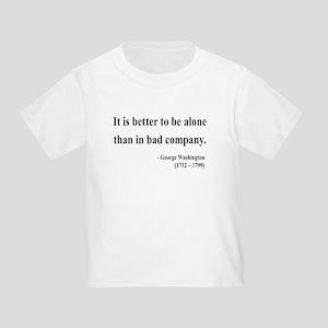 George Washington 10 Toddler T-Shirt
