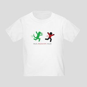 Run, Redshirt, Run! Toddler T-Shirt