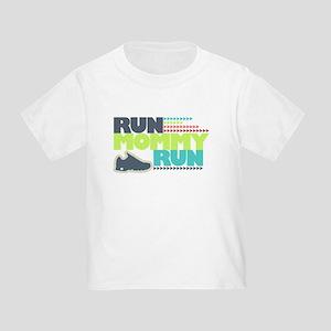 Run Mommy Run - Shoe - Toddler T-Shirt