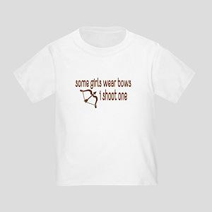 I Shoot Bows Toddler T-Shirt