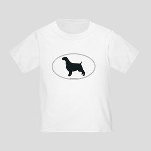En Springer Silhouette Toddler T-Shirt