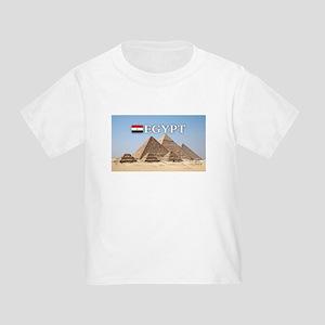 Giza Pyramids in Egypt Toddler T-Shirt