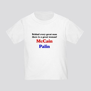 McCain Palin Toddler T-Shirt