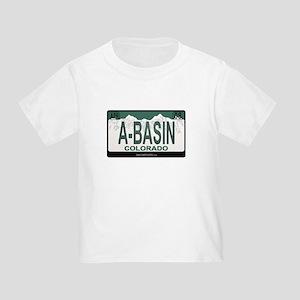 A-Basin Plate Toddler T-Shirt