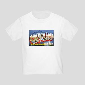 Cleveland Ohio Greetings Toddler T-Shirt