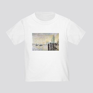 Claude Monet Westminster Bridge Toddler T-Shirt