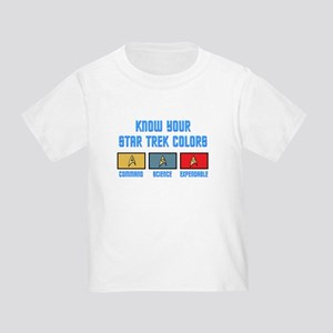 ST: Colors Toddler T-Shirt