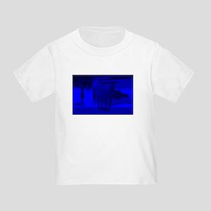 Stallion of Blue Toddler T-Shirt
