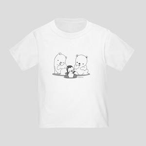 Polar Bears & Penguin T-Shirt