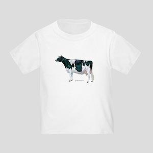 Holstein Cow Toddler T-Shirt