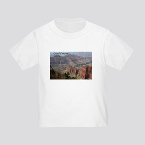 Grand Canyon, Arizona 2 (with caption) Toddler T-S