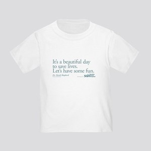 Save some lives. - Grey's Anatomy Toddler T