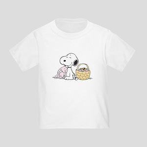 Beagle and Bunny Toddler T-Shirt