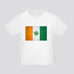 Irish Shamrock Flag Toddler T-Shirt