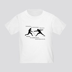 Hit First Toddler T-Shirt