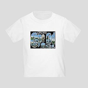 Cape Cod Massachusetts MA Toddler T-Shirt