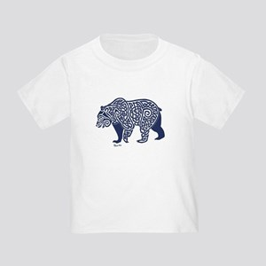 Bear Knotwork Blue T-Shirt