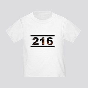Straight Outta 216 Toddler T-Shirt