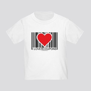 I Love Coupons Toddler T-Shirt