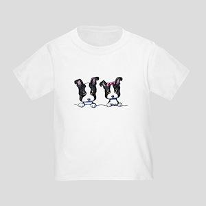 KiniArt Boston Terrier Toddler T-Shirt