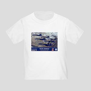 Blue Angel's F-18 Hornet Toddler T-Shirt