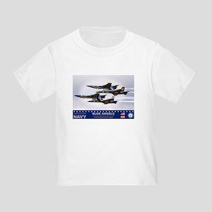 Blue Angels F-18 Hornet Toddler T-Shirt