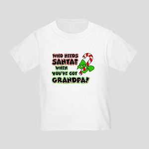 Santa? Grandpa! Toddler T-Shirt