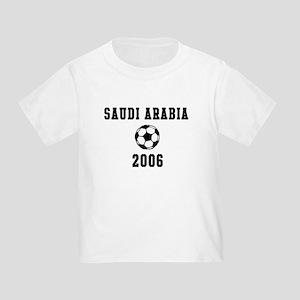 Saudi Arabia Soccer 2006 Toddler T-Shirt