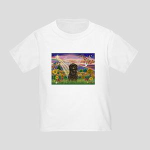 Autumn Angel & Affenpinscher Toddler T-Shir