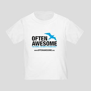 Often Awesome Logo Toddler T-Shirt