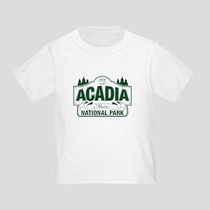 Acadia National Park Toddler T-Shirt
