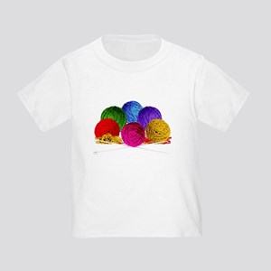 Great Balls of Bright Yarn! Toddler T-Shirt
