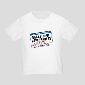 Basket of Deplorables Toddler T-Shirt