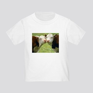 Kissing Cows Toddler T-Shirt