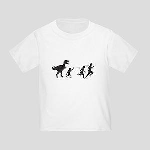T Rex Evolution Toddler T-Shirt