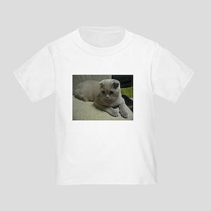 laying 2 scottish fold T-Shirt