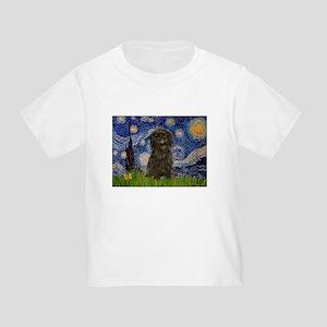 Starry Night / Affenpinscher Toddler T-Shirt