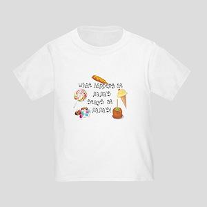 What Happens at Nana's... Funny Baby T-Shirt