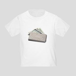 Silver Money Holder Toddler T-Shirt