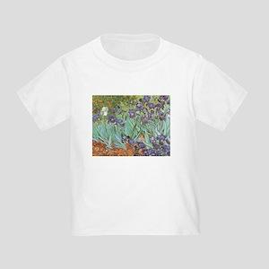 Van Gogh Irises Toddler T-Shirt