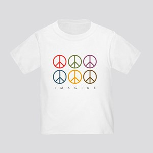 Imagine - Six Signs of Peace Toddler T-Shir