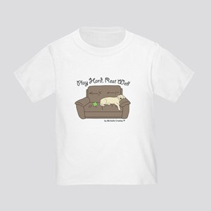Yellow Lab - Play Hard Toddler T-Shirt