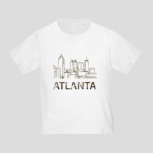 Vintage Atlanta Toddler T-Shirt