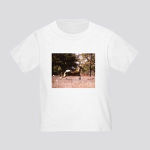 White-Tail Deer Running T-Shirt