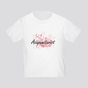 Acupuncturist Artistic Job Design with Flo T-Shirt